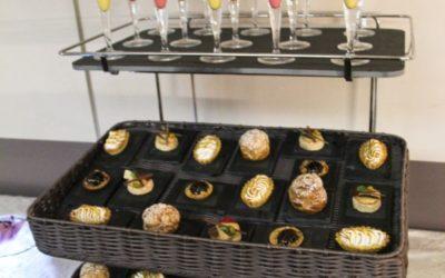 Set up buffet